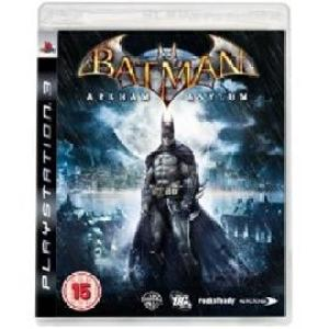 PS3: Batman Arkham Asylum (käytetty)