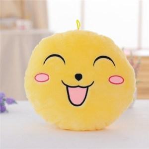 Hehkuva Emoji tyyny (Keltainen)