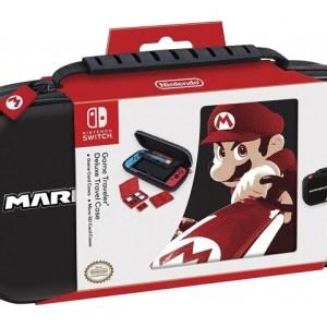 Switch: Game Traveler Deluxe Travel Case Mario Kart