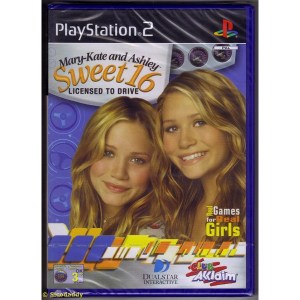PS2: Mary-Kate and Ashley Sweet 16 Licenced to Drive (käytetty)