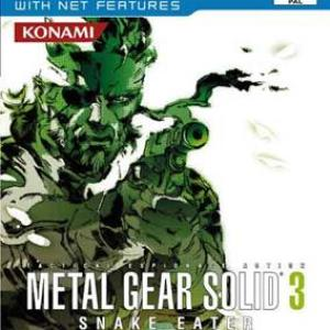PS2: Metal Gear Solid 3 Snake Eater (käytetty)