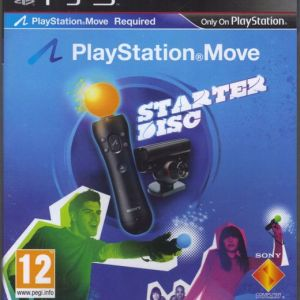 PS3: Playstation Move - Starter Disc (käytetty)
