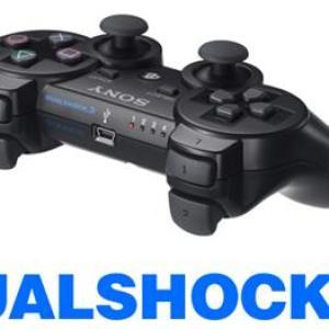 PS3: Dualshock 3 Peliohjain Black (käytetty)