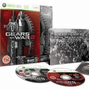 Xbox 360: Gears Of War 2 limited Edition (käytetty)