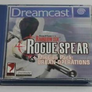 Retro: Rainbow Six  Rogue Spear (Dreamcast) (käytetty)