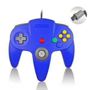 Retro: Nintendo 64 Ohjain, Sininen (ei original)