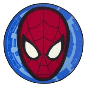 Disney Marvel Spiderman Head Shaped Rug