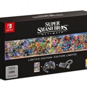 Switch: Super Smash Bros. Ultimate - Limited Edition KERTAERÄ
