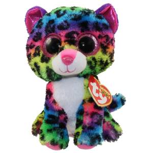 TY Beanie Boos DOTTY - multicolor leopard reg