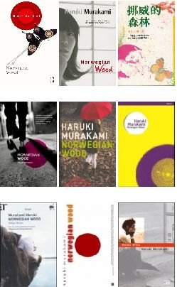 Norwegian Wood all cover editions