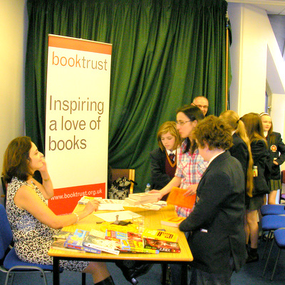 MG Harris launches BookedUp Northern ireland in Derry Central Library 2010