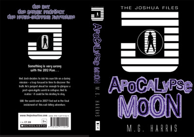 Jacket art for The Joshua Files: APOCALYPSE MOON