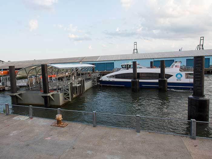 McLaren Engineering completes new NYC Ferry landings