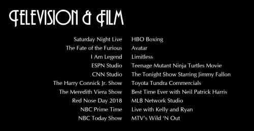 McLaren Television and Film