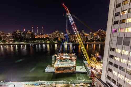 Rockefeller University River Building – Erection Engineering