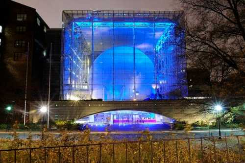 Hayden Planetarium Glass Curtain Wall