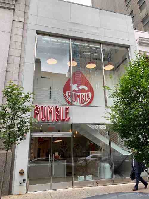 Rumble – Boutique Fitness Engineering