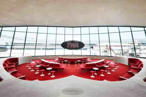 TWA Terminal to Hotel - Restored Airport Terminal