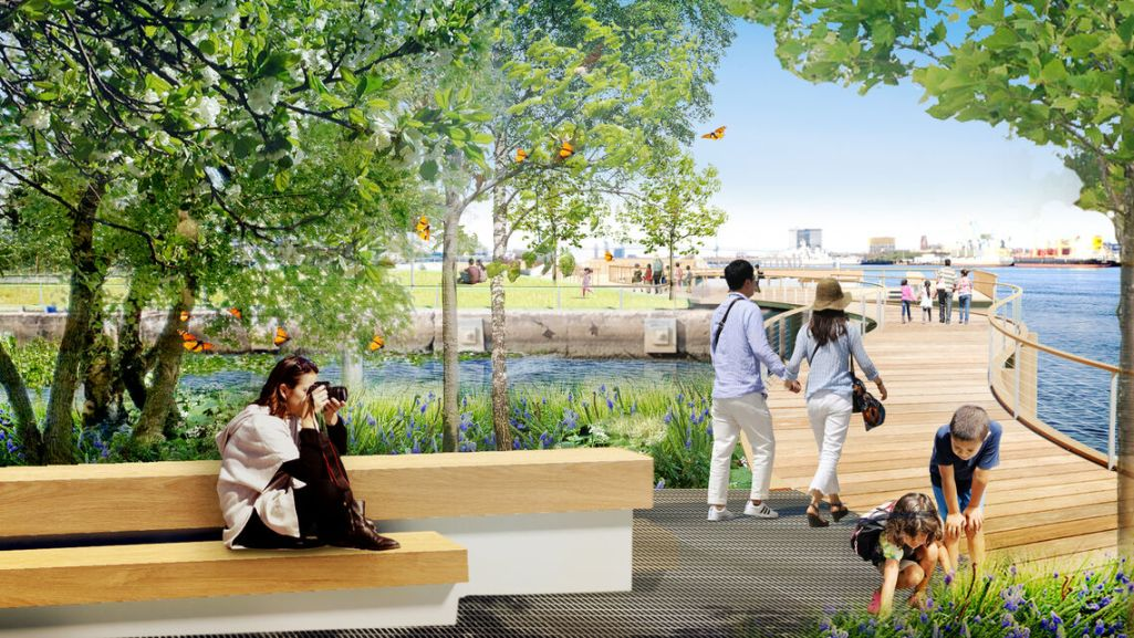 Philadelphia to turn crumbling piers into a waterfront park