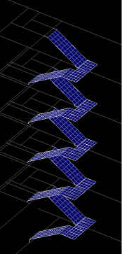 Monumental Stairs Vibration Serviceability Rendering