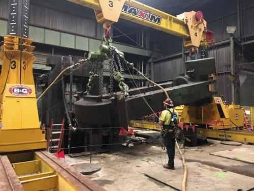 Gantry Crane Peer Review at Steel Mill