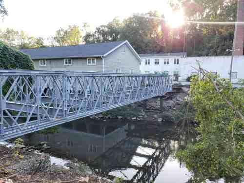 Bridge Steel Framing - Maryland Sound International