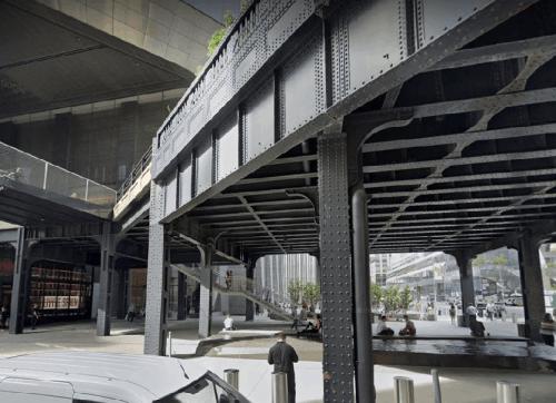 The High Line Monumental Stair