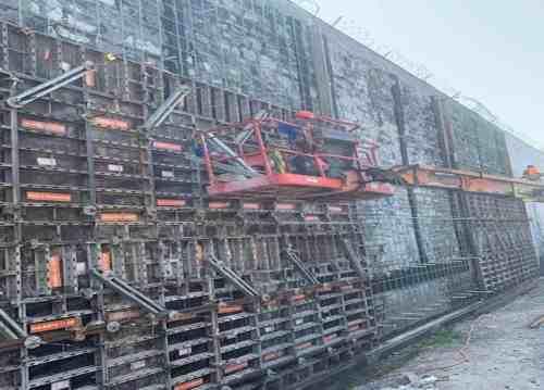 Perimeter Wall Repair - Auburn Correctional Facility