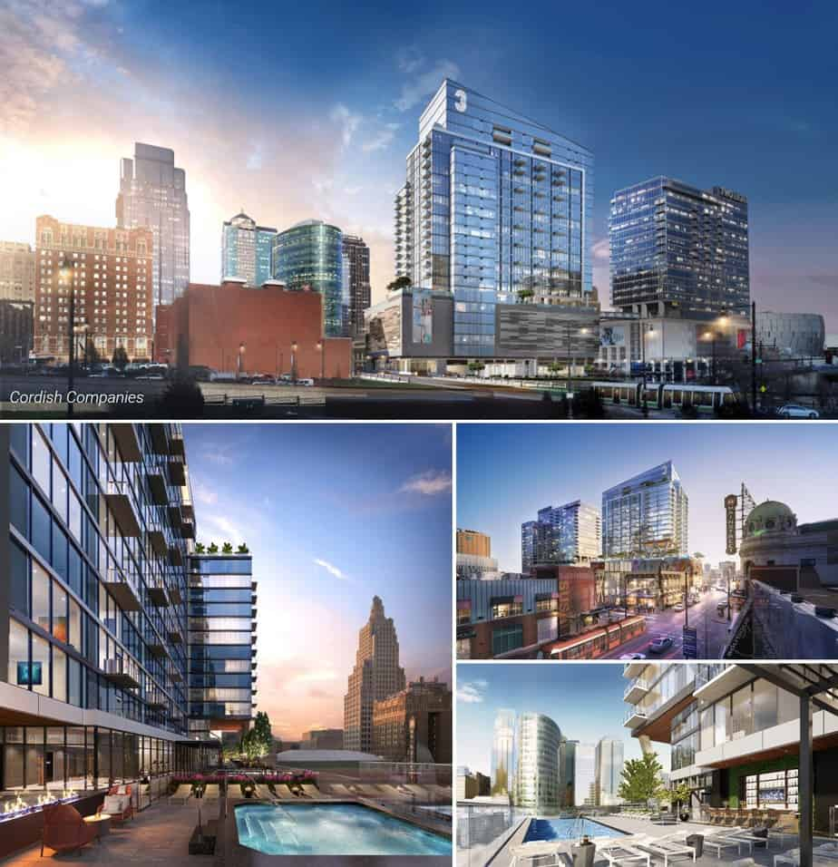 Kansas City's Three Light - Set to Start Construction Next Month