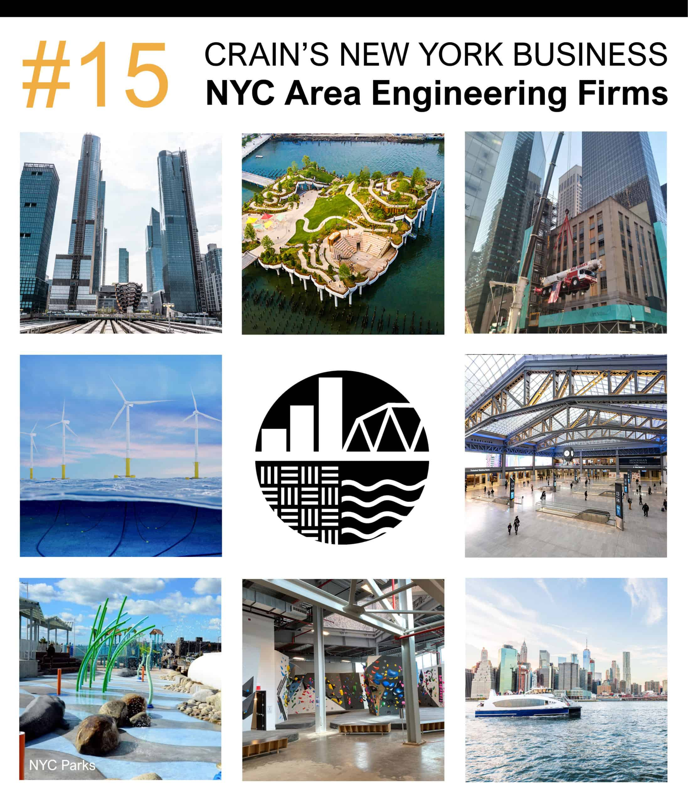 Largest NYC Area Engineering Firms – Crain's