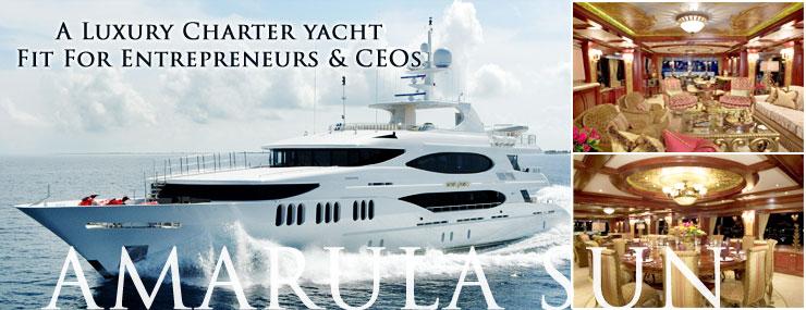 Amarula Sun A Family Friendly Mega Yacht Charter