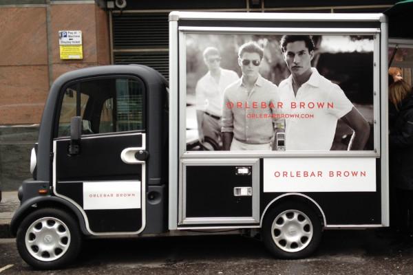 The MG Coffee Van @ Moorgate