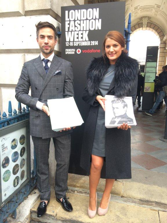 Harrods magazine @London Fashion Week