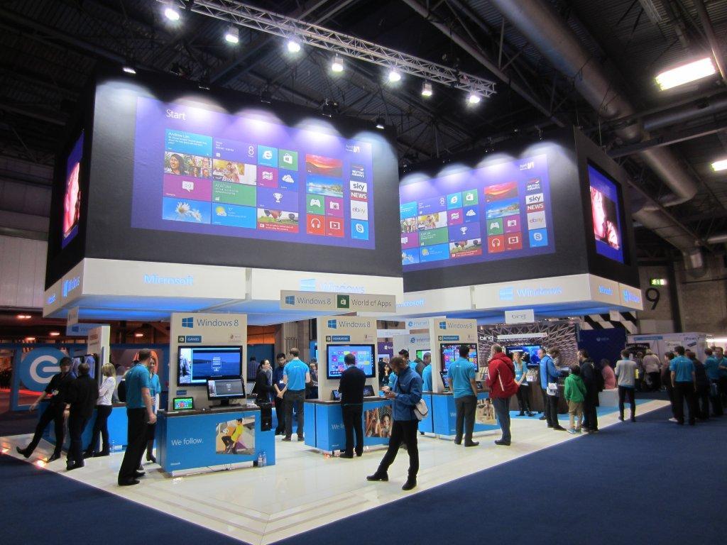 Windows 8 Stand NEC Birmingham 2013