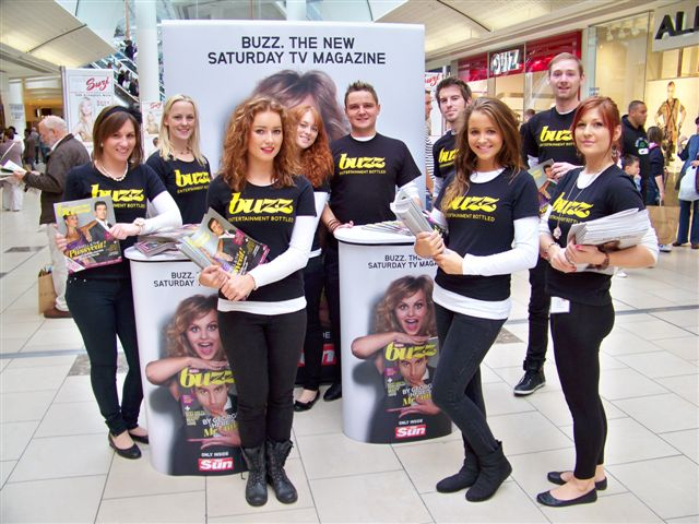 Buzz Promotion @ Lakeside Shopping Centre