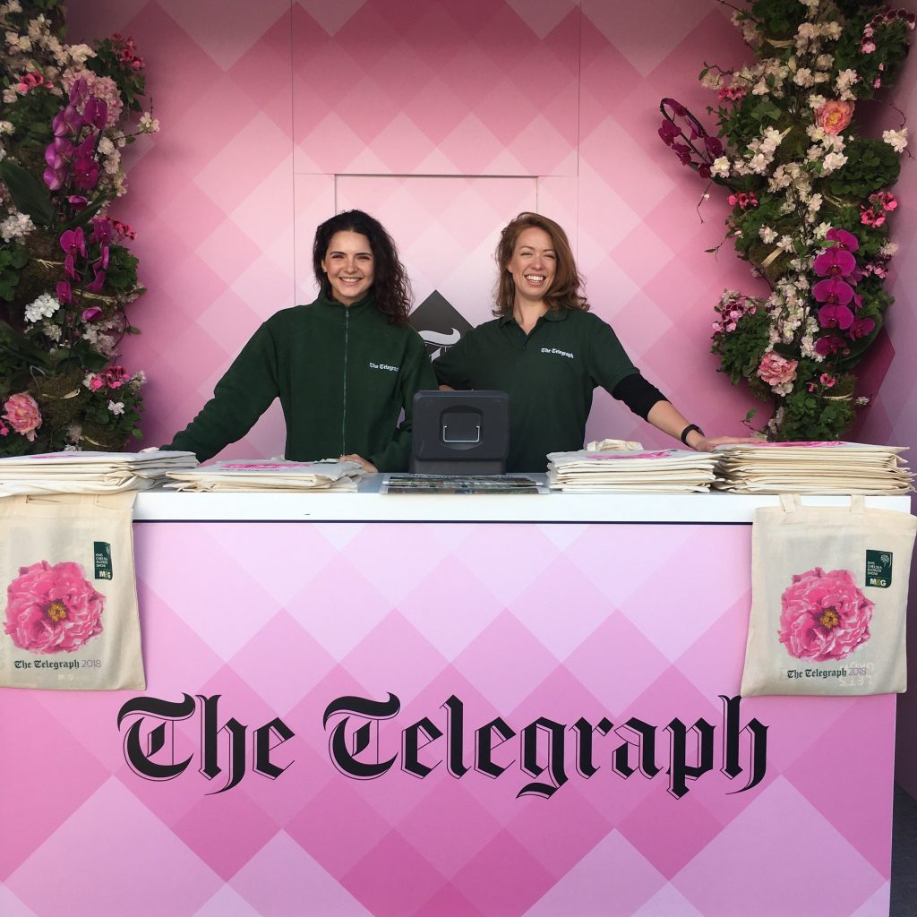 The Telegraph @ Chelsea Flower Show 2018