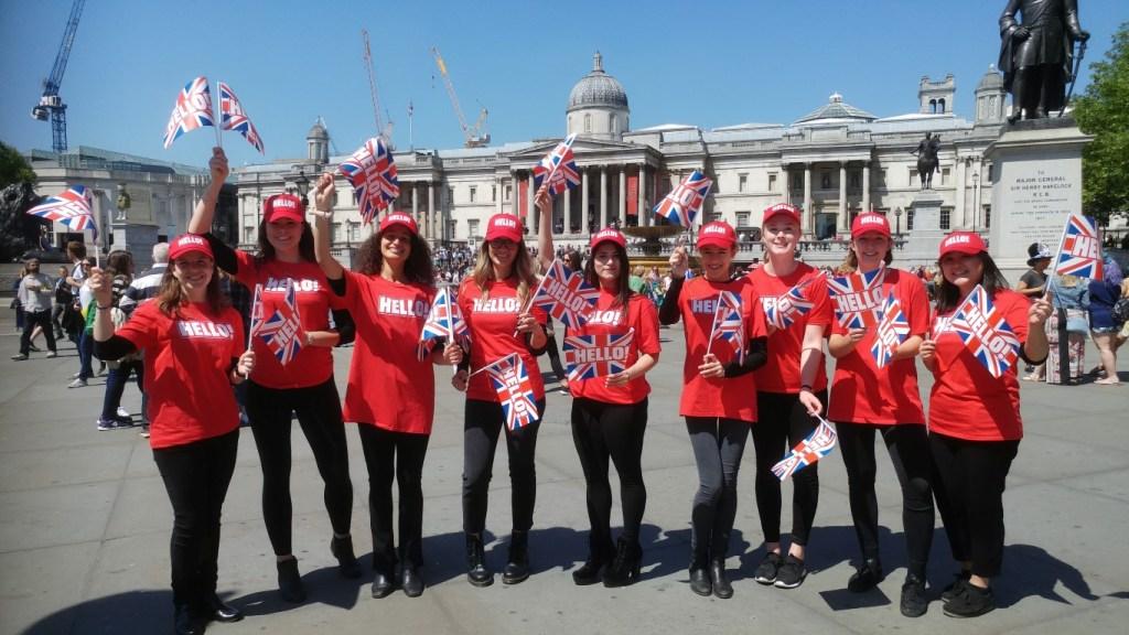 Royal Wedding @Trafalgar Square