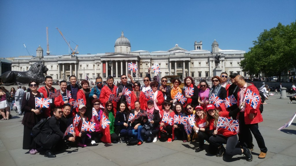 Royal Wedding @Trafalgar Square (2)