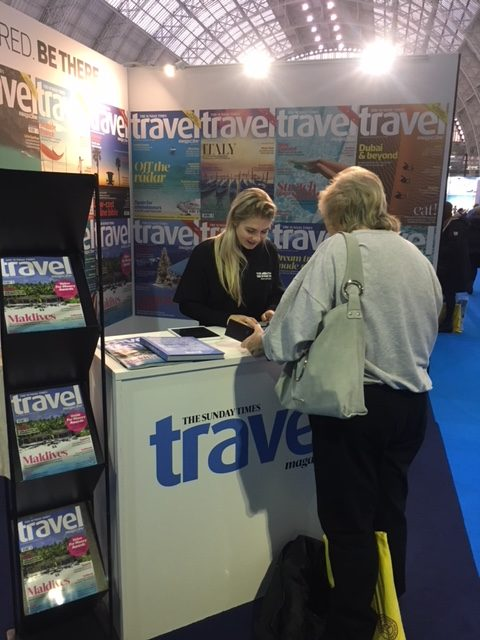 Sunday Times Travel Magazine @ Destinations Show (7)