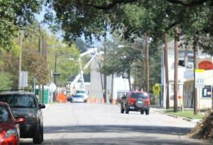 BG&E Utility Crew working at Beachamp & North Main Streets