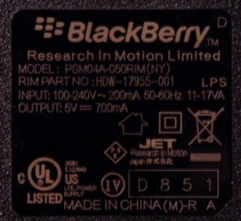 Blackberry-PSU-Output