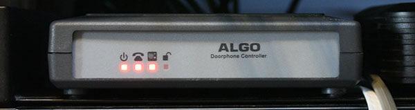 Algo 8028 SIP Doorphone Controller, Front View