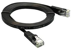 Flat ethernet cable