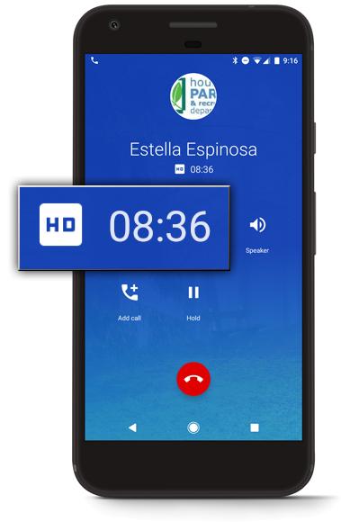 Google Pixel In-call