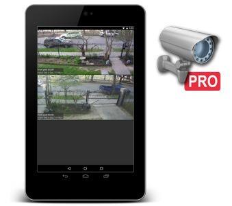 TinyCam Monitor Pro on Nexus 7