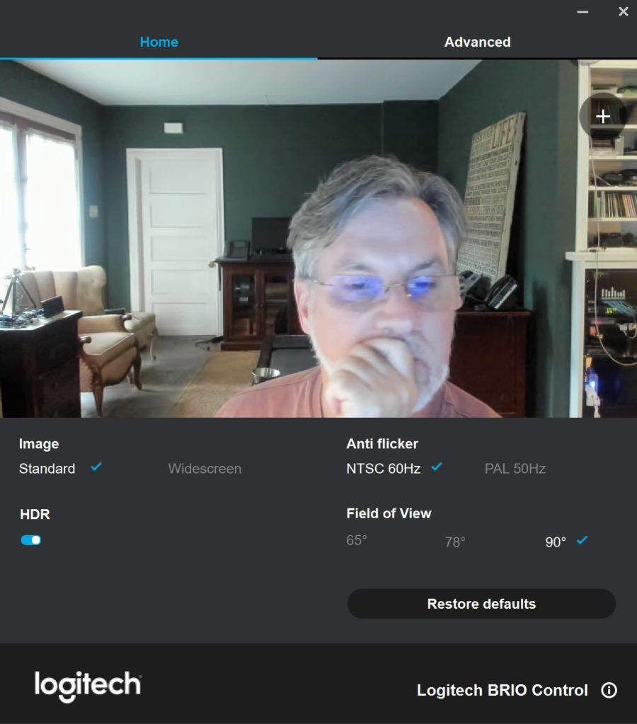 Review: Logitech's Brio 4K Webcam Pro | Graves On SOHO