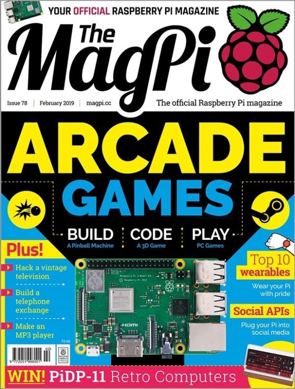 The MagPi Cover 79