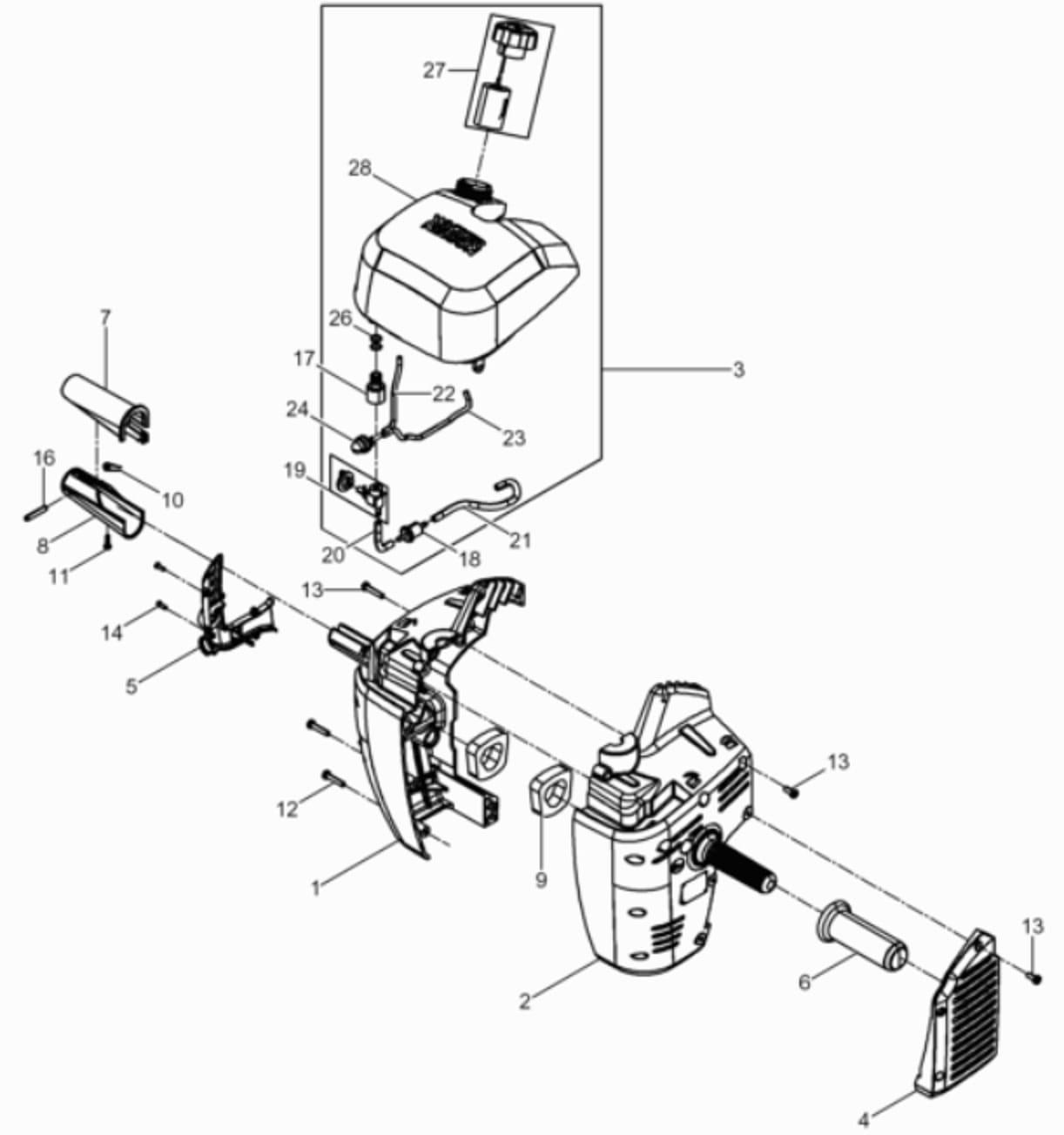 Wacker Bh23 Bh24 Bh55 Bh65 Pompka Paliwa Mgs Technics