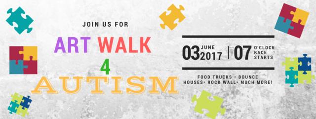 Art Walk 4 Autism, Community Outreach