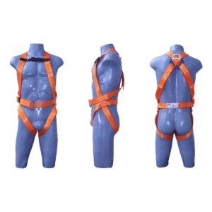 Cinto paraquedista para proteção antiquedas, marca Facintos. Sem regulagem para cintura.